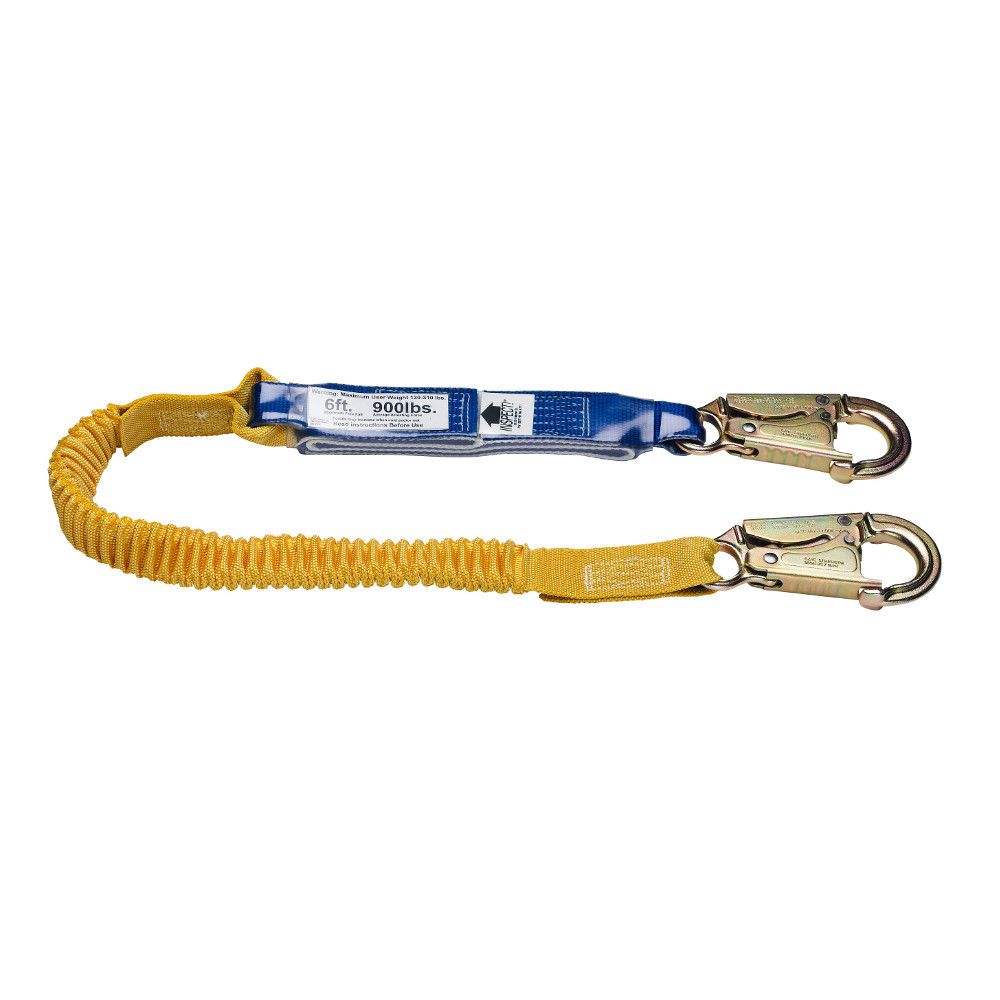 Werner Fall Protection SoftCoil Lanyard