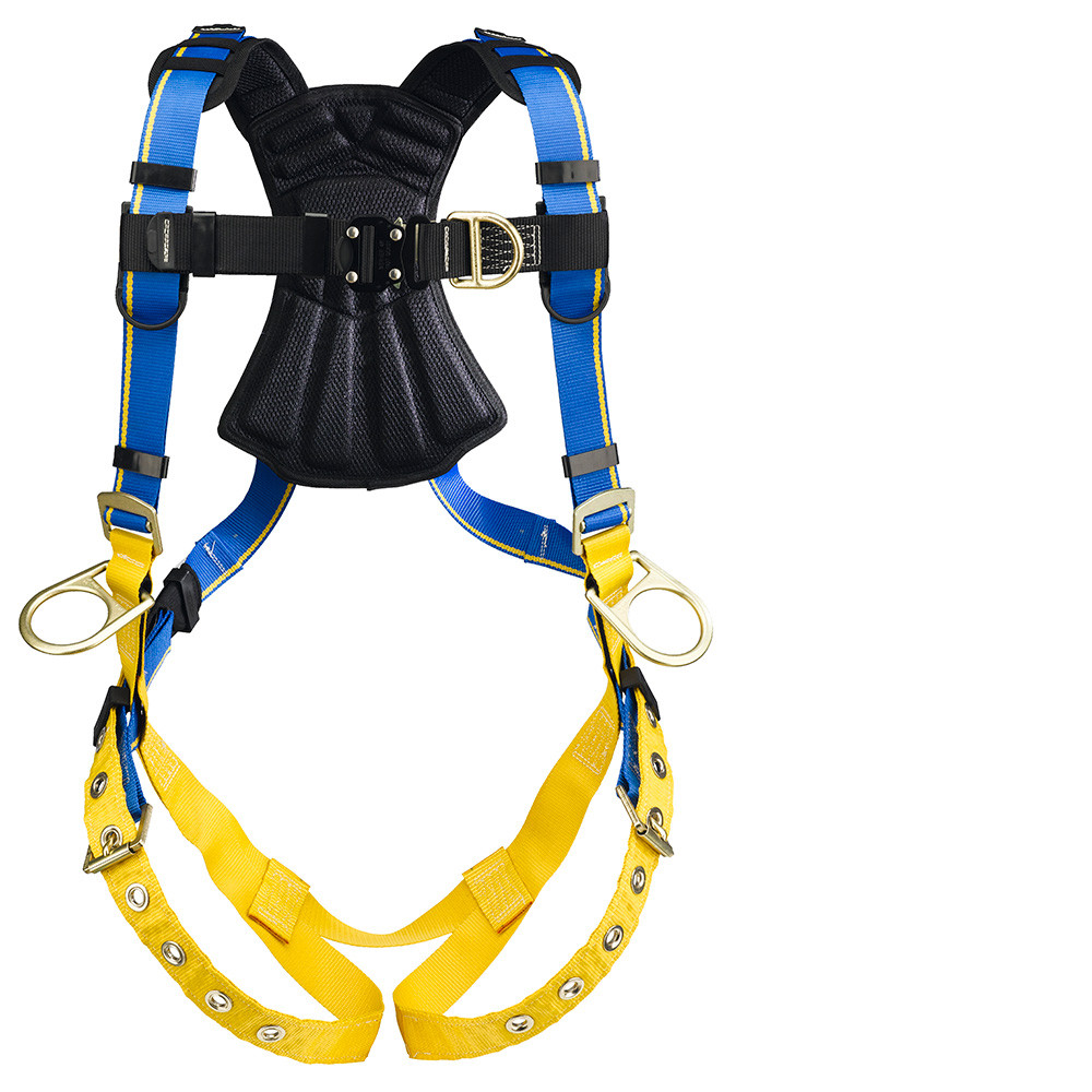 Werner Fall Protection Blue Armor 2000 Climbing/Positioning Harnesses