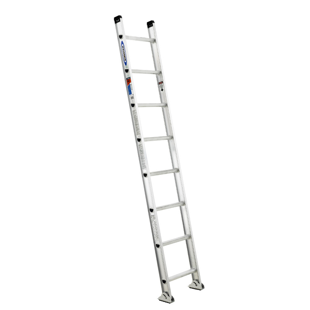 Werner D1500-1 Series Aluminum Single Ladder 300 lb Rated