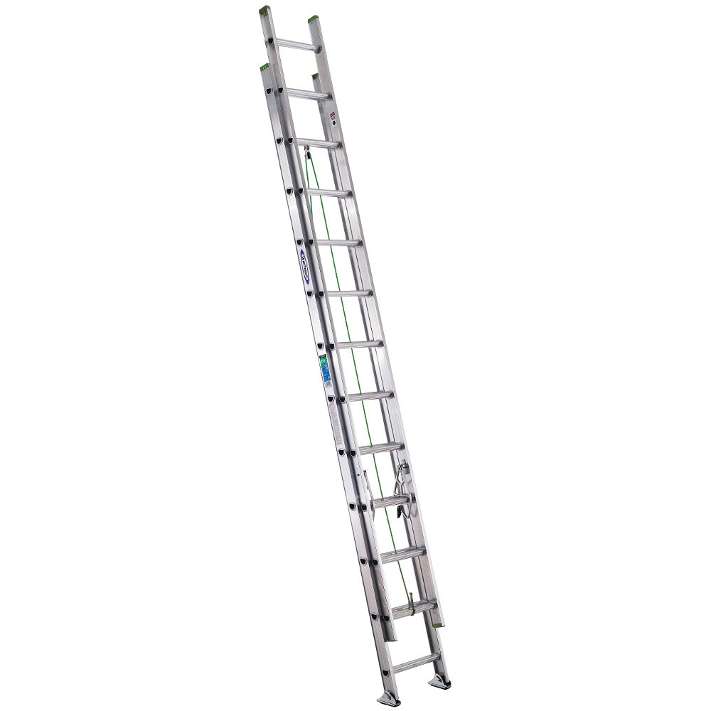Werner D1200-2 Series Extension Ladder 225 lb rated