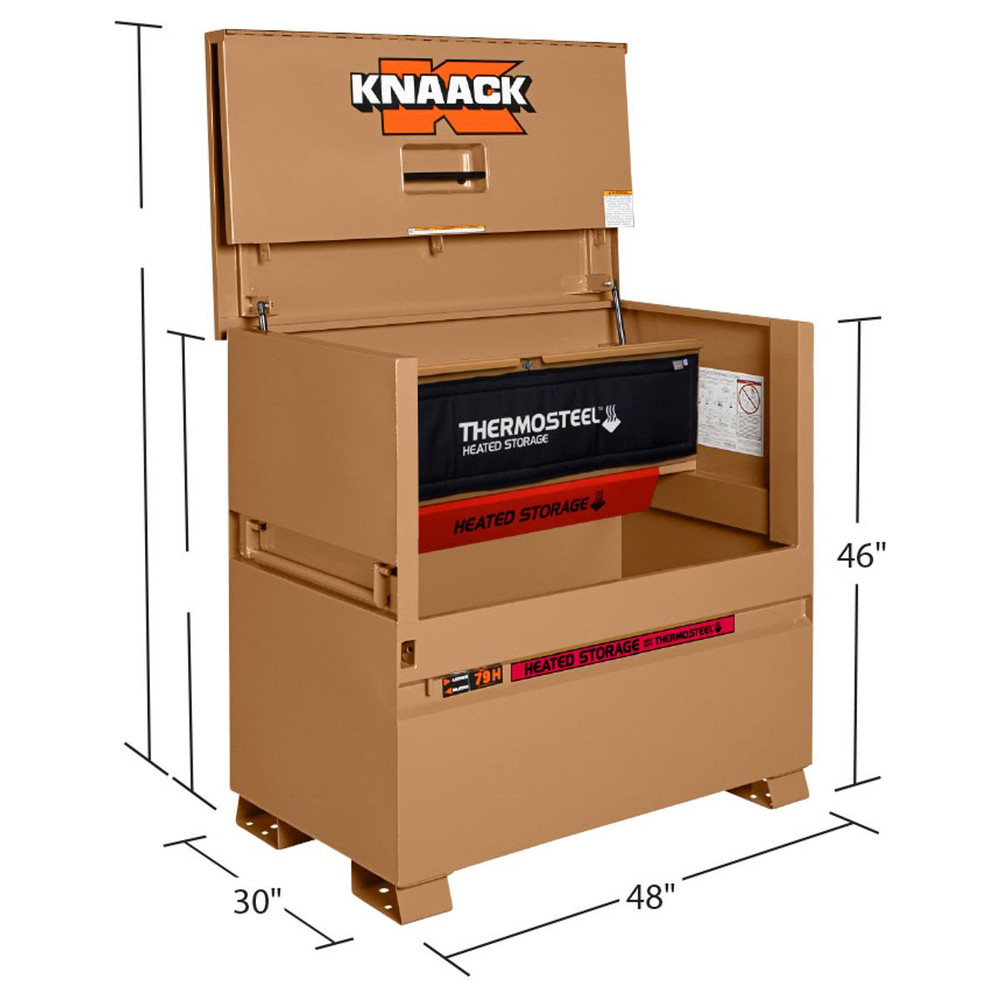 Knaack Model 79 H Storagemaster Chest Thermosteel Heated