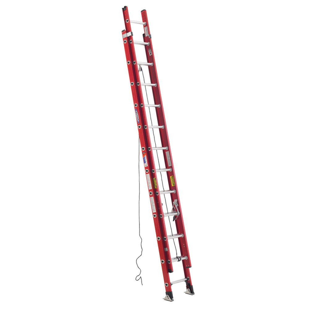 Werner D6300-2 Series Fiberglass Extension Ladder 300 lb rated