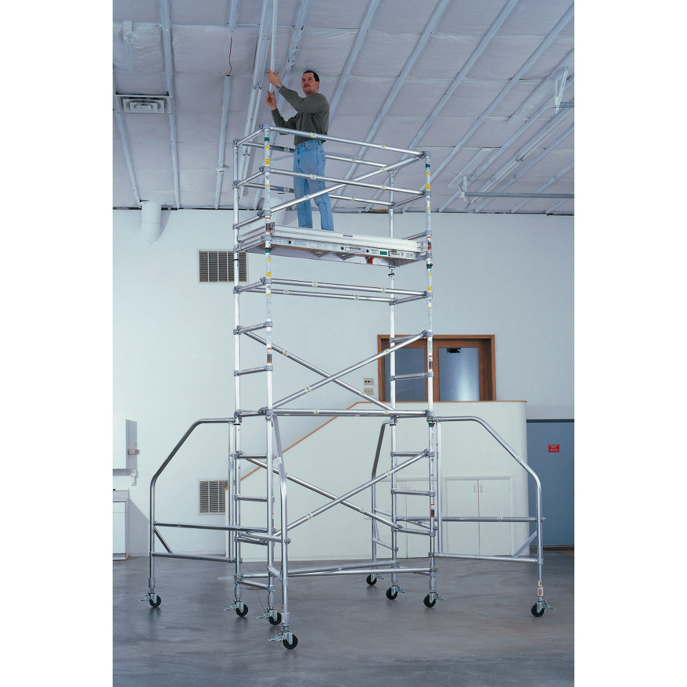 Werner Narrow Span Aluminum Scaffold Towers Industrial