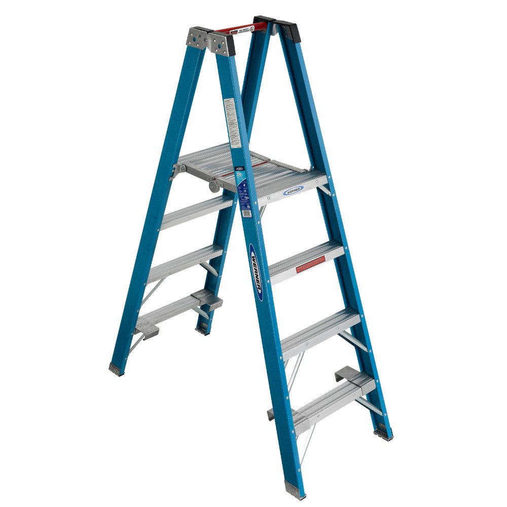 "Werner PT6000 Series ""Stockr's"" Ladder 250 lb Rated"