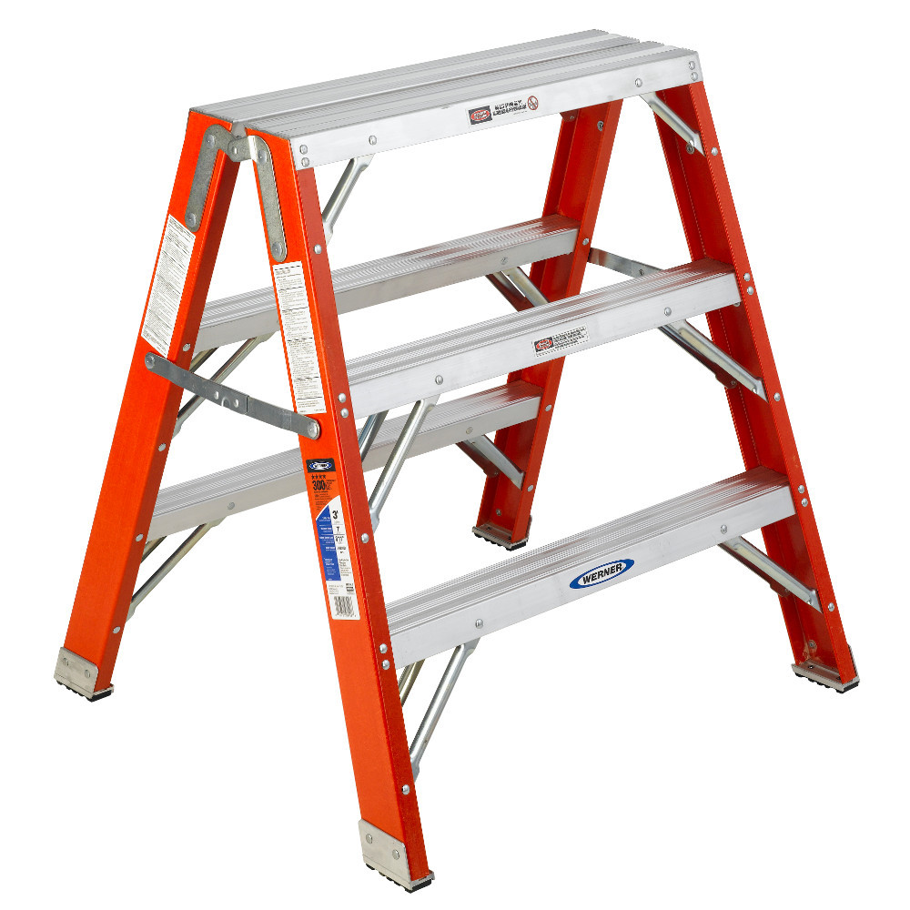 Werner TW6200 Series Fiberglass Portable Work Stand 300 lb Rating
