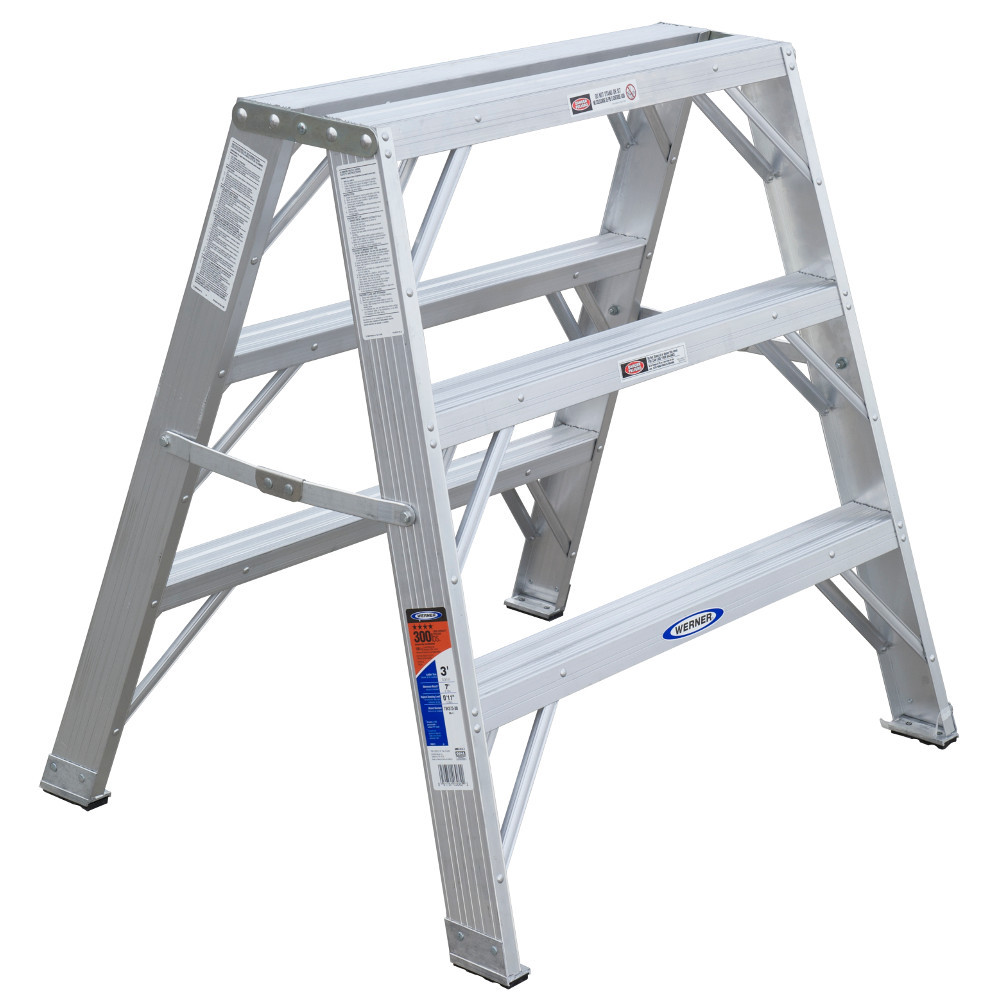 Werner Tw370 Series Aluminum Work Platform 300 Lb Rating