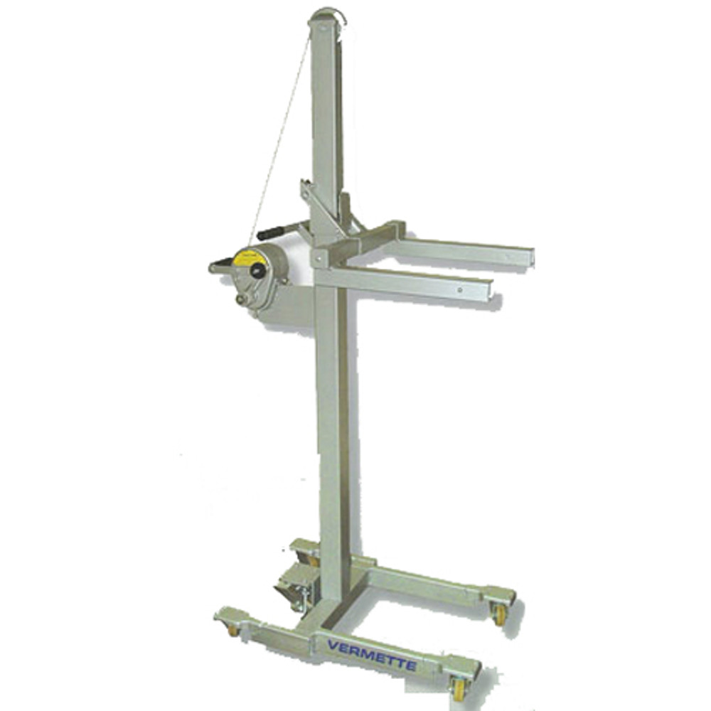 "Vermette Model Adjust-A-Lift Capacity 400 lbs includes 3"" Non-marking Casters"
