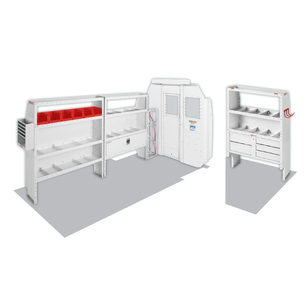 "Model 600-8443R HVAC/Mechanical Van Package, Mid/High-Roof, 136"" WB, RAM ProMaster"