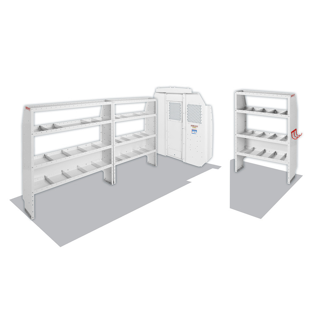 "Model 600-8440L Commercial Shelving Van Package, High-Roof, 159"" WB, RAM ProMaster"