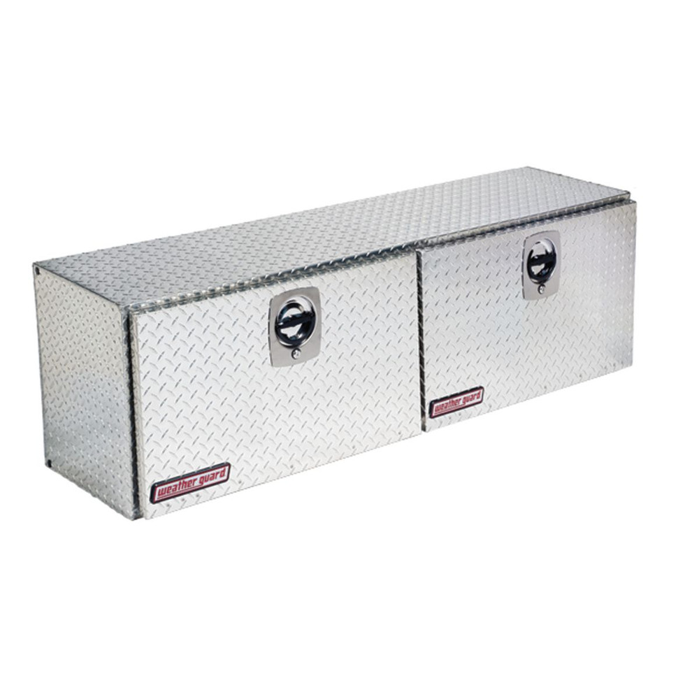 WeatherGuard Model 365-X-02 Super Hi-Side Box, Aluminum, 10.8 cu ft
