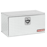 WeatherGuard Model 636-X-02 Underbed Box, Aluminum, Compact, 6.5 cu ft