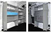 "Adrian Steel 5184  - HVAC Package Promaster 136"""