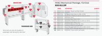 WeatherGuard Model 600-8113R HVAC/Mechanical Van Package, Full-Size, Ford Transit, 130 WB