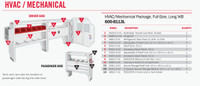 WeatherGuard Model 600-8113L HVAC/Mechanical Van Package, Full-Size, Ford Transit, 148 WB