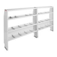 WeatherGuard Model 600-8210L Commercial Shelving Van Package, Mid-Roof, Ford Transit, 148 WB
