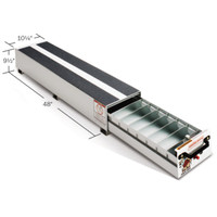 WeatherGuard Model 305-3 PACK RAT Drawer Unit, 48 in x 10-1/4 in x 9 in