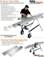 Tapco Siding Tools ProTrax Saw Table