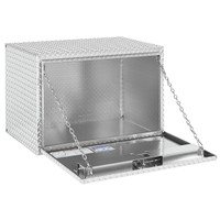 WeatherGuard Model 638-0-02 Underbed Box, Aluminum, Jumbo, 12.2 cu ft