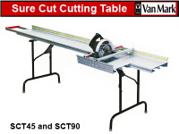 Van Mark Sure Cut Saw Tables