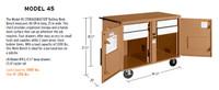 Knaack Model 45 STORAGEMASTER Rolling Work Bench, 1,000 lbs