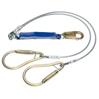 Werner Fall Protection DeCoil Cable Lanyard