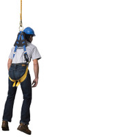 Werner Fall Protection Blue Armor 2000 Positioning Harnesses