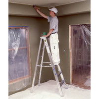 Werner 400 Series Aluminum Stepladders 375 lb rated