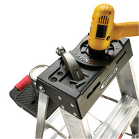 Werner 370 Series Aluminum Stepladders 300 lb Rated