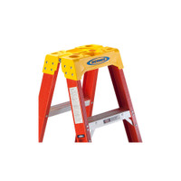 Werner T6200 Series Twin Sided Stepladder 300 lb Rated