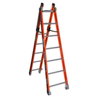 Werner 7800 Series Combo Fiberglass Ladder 375 lb Rated