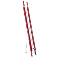 Werner D6300-2 Series Fiberglass Extension Ladder 300 lb rated