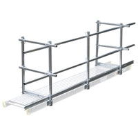 Werner Stages - Guard Rail & Toeboard Components