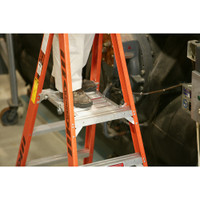 "Werner PT7400 Series"" Stockr's"" Ladder 300 lbs rated"