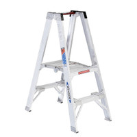 "Werner PT370 Series Aluminum ""Stockr's"" Ladder 300 lb Rated"