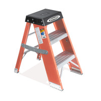 Werner SSF Series Fiberglass Step Stand 375 lb Rating