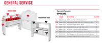 WeatherGuard Model 600-8341 General Service Van Package, RAM ProMaster City