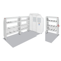 """WeatherGuard Model 600-8440S Commercial Shelving Van Package, Mid-Roof, 118"""" WB, RAM ProMaster"""