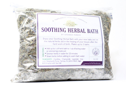 Soothing Herbal Bath