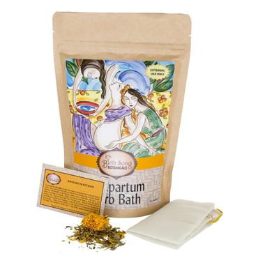 Postpartum Herb Bath By Birth Song Botanicals In His