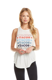 Chaser Taco and Stars Muscle Tank