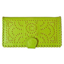 Cleobella Mexicana Clutch In Lime