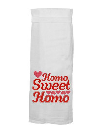 Homo Sweet Homo Hangtight Towel