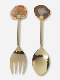 Tozai Home Agate Salad Serving Set