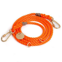 Found My Animal Rescue Orange Rope Leash