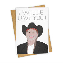 Tay Ham I Willie Love You Card