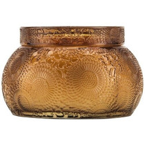 Voluspa Baltic Amber Chawan Bowl Glass Candle