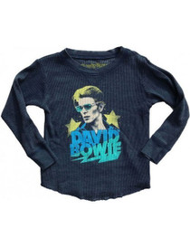 David Bowie Burnout Thermal Navy