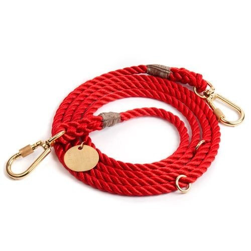 Found My Animal Red Rope Leash