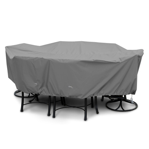 Oval Rectangular Dining Set Cover Outdoor Furniture Covers