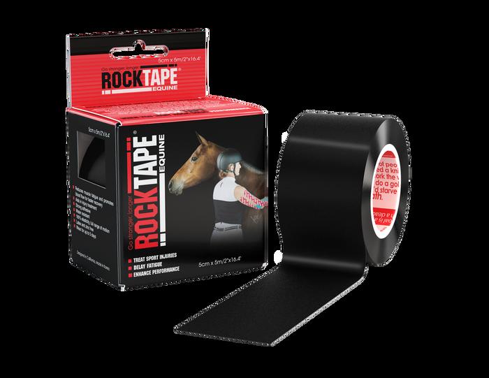5cm Equine Tape Black